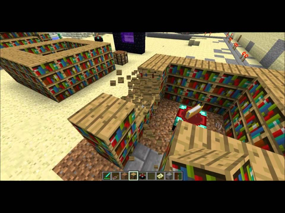 Minecraft Enchanting Best Bookshelf Layout Possible YouTube - Bookshelves minecraft