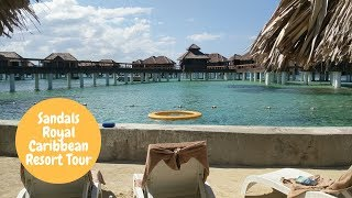 Sandals Royal Caribbean Tour w/ Beachfront Grande Luxe  & Over-the-Water Bungalow