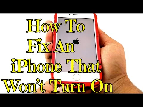How To Fix An iPhone That Won't Turn On #iPhoneHack