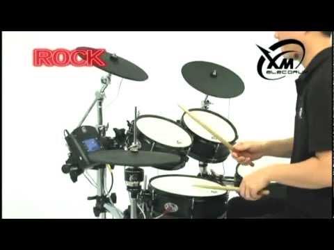 【xm-edrum】custom-series-c-7sr-edrum-kit:-demonstrating-different-kit-sounds