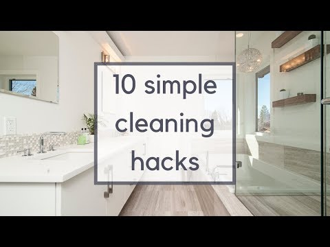 10 Simple + Easy Cleaning Hacks | Minimalist Cleaning Tips