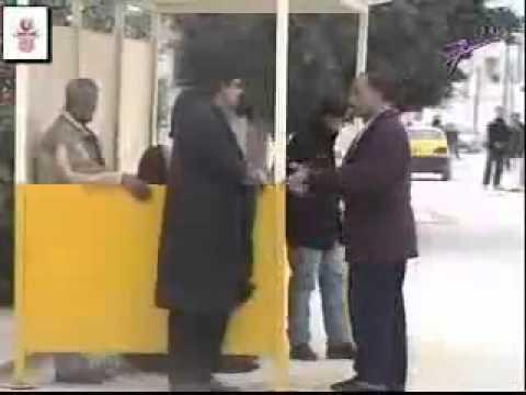 Camera cachée tunisienne arret de bus