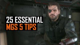 25 Essential Metal Gear Solid 5 Tips