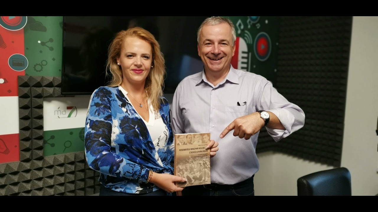 Interjú Bajcsi Ildikóval nemrég megjelent könyvéről.  Ma7, 2021. szeptember 27.