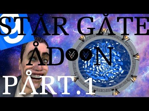 Garry's Mod: Stargate: Part .1: Ships,Star gates,Rings,DHD.