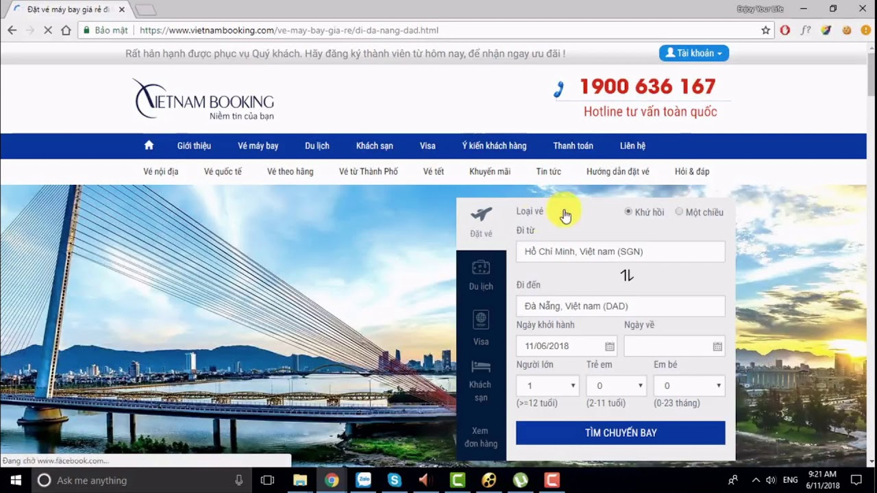 VietnamBooking.com: Cách săn vé máy bay đi Đà Nẵng giá rẻ trực tuyến –  ☎️ 1900 636 167