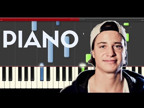Kygo Carry me Piano midi tutorial sheet partitura cover app