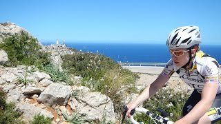 Mallorca Cycling Camp Video #15 Indoor turbo Trainer Workout 100 Minute Full HD Drift Camera