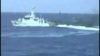 Japanese coastguard hit Chinese fishing boat at Diaoyu Island Video 6-钓鱼岛撞船录像全版6/6