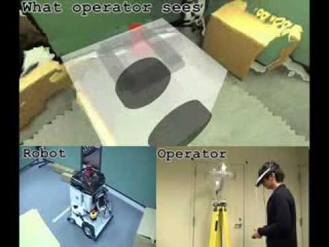 Free-Viewpoint Mobile Robot Teleoperation Interface