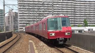 2018年度廃車組… 名鉄5304F 328レ特急河和行 豊田本町カーブ