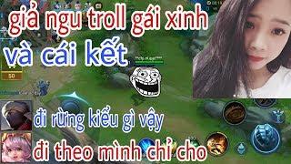 Troll Game - Giả Ngu Thuê Gái Xinh Dạy Chơi Liên Quân Và Cái Kết - Yo Game