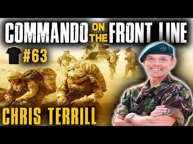 The 55-Year-Old Commando | Chris Terrill | Royal Marines | Afghanistan | Filmmaker | Author