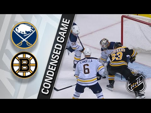 02/10/18 Condensed Game: Sabres @ Bruins
