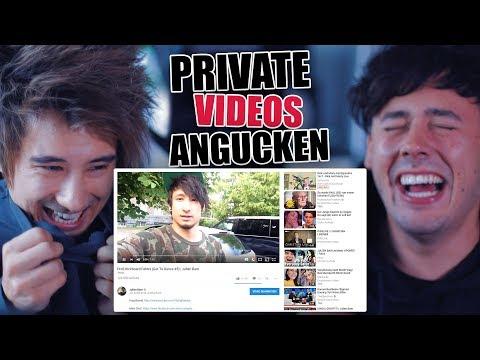 Private Videos von Julien Bam & Crispy Rob
