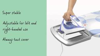 Brabantia Ironing Board - Size B with Solid Steam Iron Rest