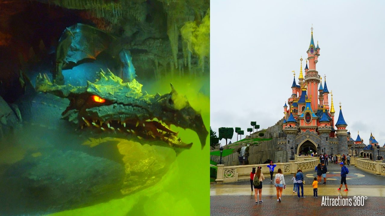 4k Dragon S Lair Underneath Sleeping Beauty Castle