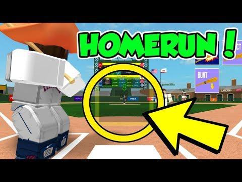 Most Insane Homerun Ever Hcbb Roblox Youtube - roblox hcbb home run derby