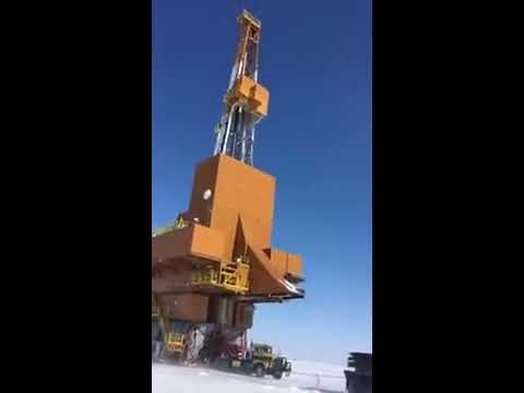 BIGGEST TRUCK LOAD EVER? EXTREME ARTIC RIG MOVE (DOYON 142)