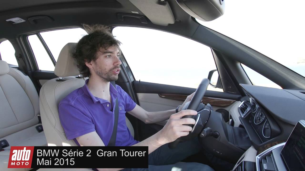 bmw s rie 2 gran tourer 2015 essai du monospace 7 places youtube