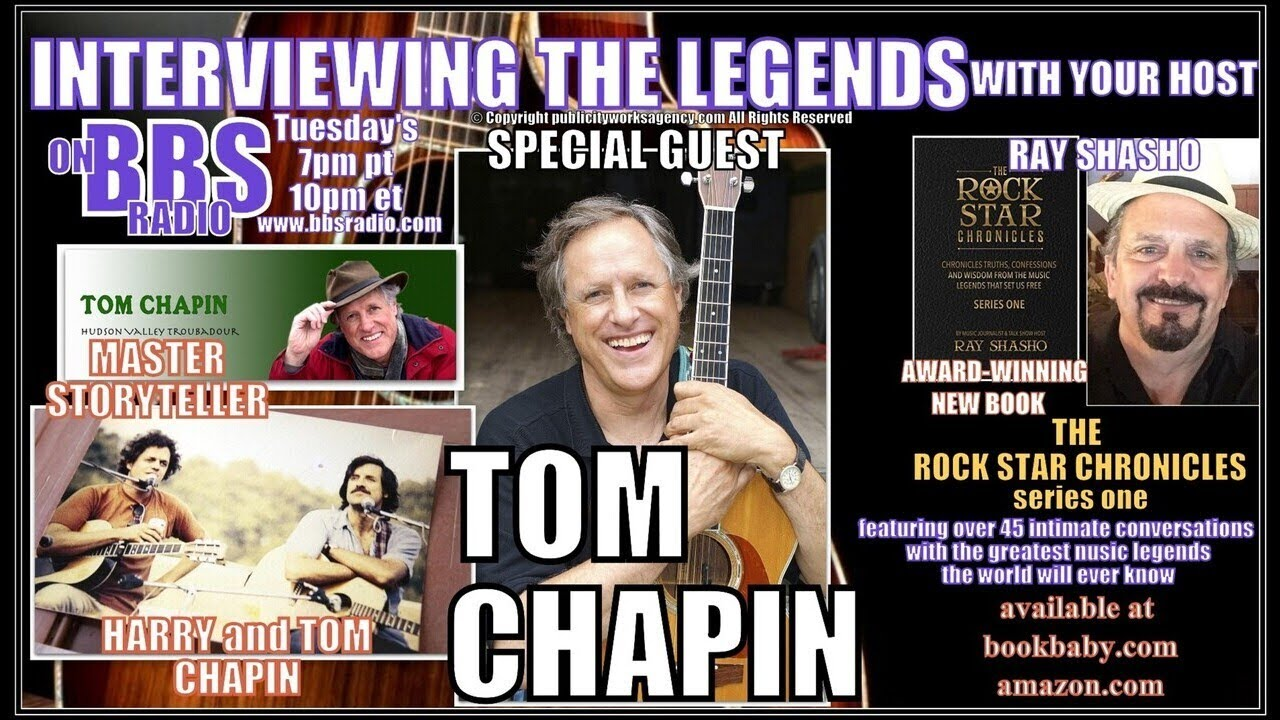 Tom Chapin Master Storyteller and Brother of Harry Chapin