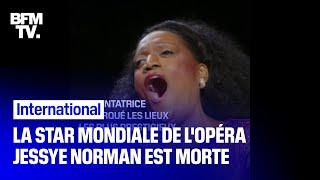 La star mondiale de l'opéra Jessye Norman est morte
