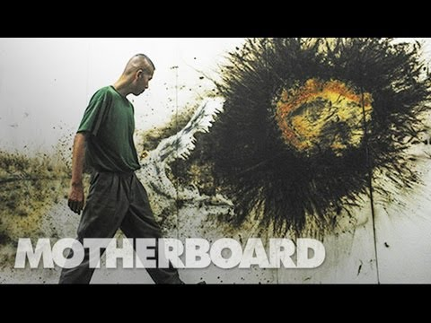 Cai Guo-Qiang Paints with Exploding Gunpowder