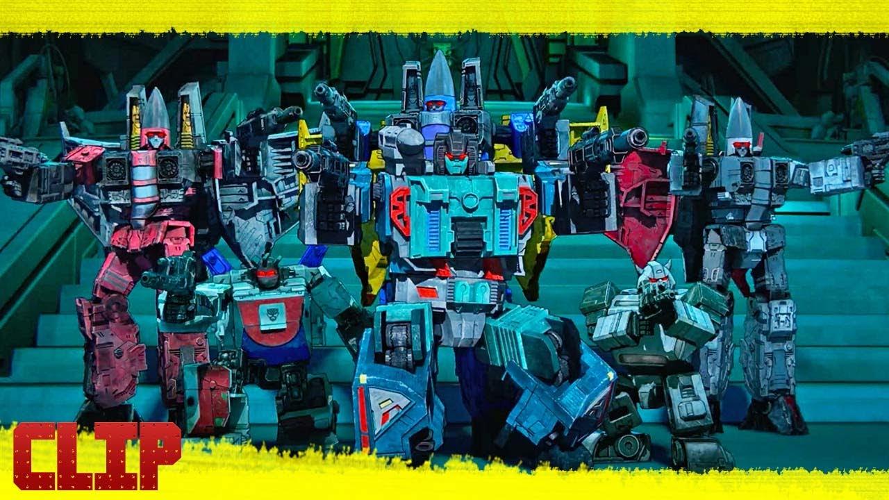 "Transformers: War for Cybertron Trilogy Netflix Clip ""Salida de la Tierra"" Subtitulado"