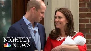 Prince William And Kate Middleton Welcome Third Child | NBC Nightly News