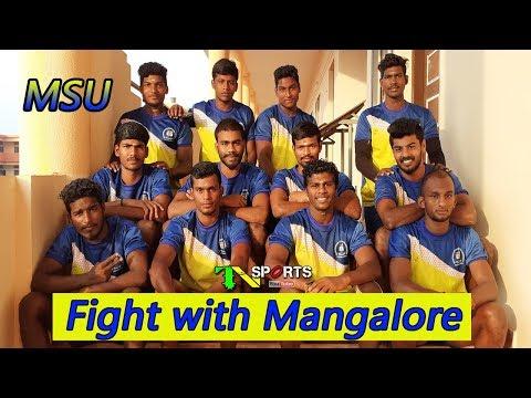 Last Final League - MS University Vs Mangalore University | South Zone Men Kabaddi 2019