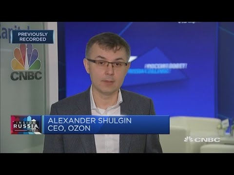 Ozon CEO: E-commerce infrastructure in Russia is very important | Capital Connection