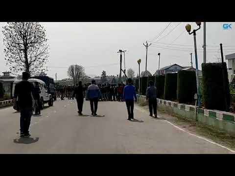 Protests rock Kashmir University against Shopian civilian killings
