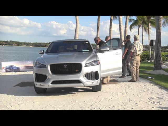 Jaguar F-Pace and Jaguar XE Launch with Ft. Myers Jaguar