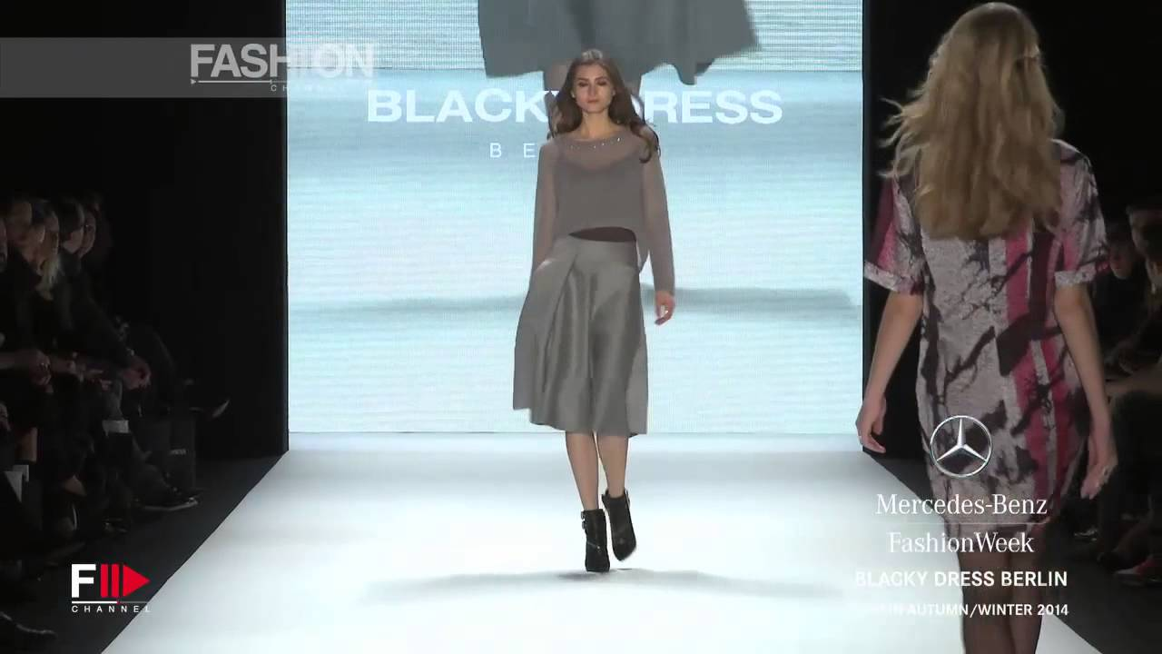 outlet store c6bfb 232b7 Fashion Show BLACKY DRESS Autumn Winter 2014 2015 Berlin HD by Fashion  Channel