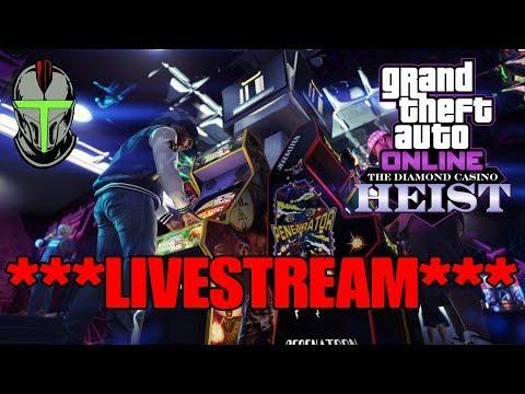 GTA ONLINE NEW CASINO HEIST DLC!!! (BUYING EVERYTHING!!!)