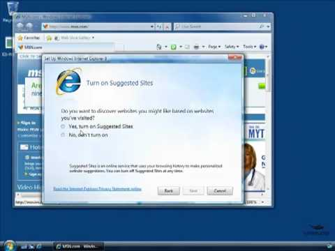 Learn Internet Explorer 8
