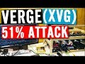 Verge (XVG) 51% Attack, as XVG price is up over 100%!