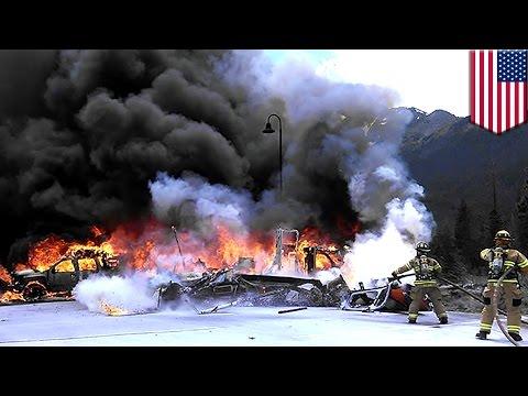 Helicopter crash in Colorado kills Flight For Life medical chopper pilot - TomoNews