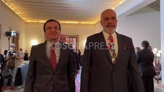 Samiti i Ballkanit Perëndimor, Rama pret kryeministrin Kurti