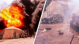 Смертник подорвался у президентского дворца. Страшный теракт в Сомали