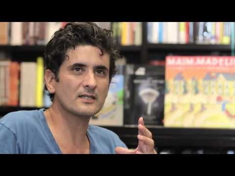 John Bemelmans Marciano interveiw at Books & Books in Grand Cayman