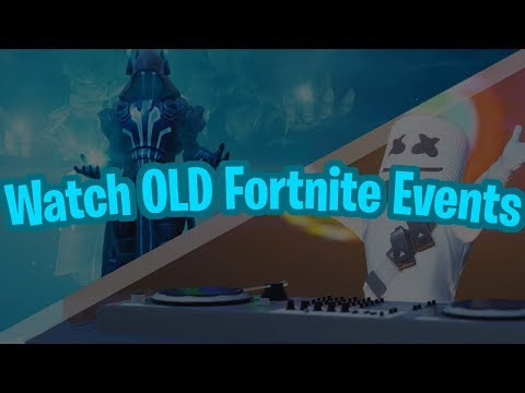 How To See Old Fortnite Events/Replays