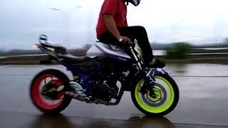 Freestyle Motor Pake Yamaha MT25