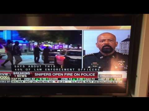 Obama fuels shootings against police with dog whistle message with no foundation of police racism