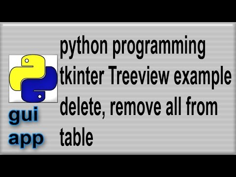 Repeat python tkinter video tutorial video 4: sqlite3