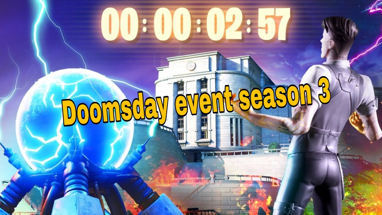 *Doomdays event 😱 ( NEW SEASON 3 Map🥶)