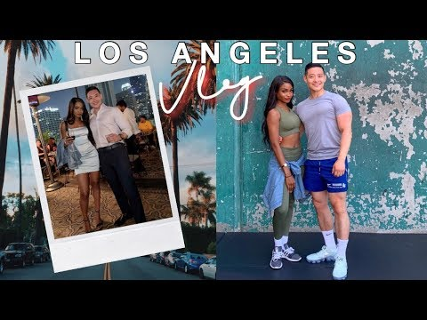 VLOG\ A WEEKEND GETAWAY IN LOS ANGELES | BEING A TOURIST WITH...