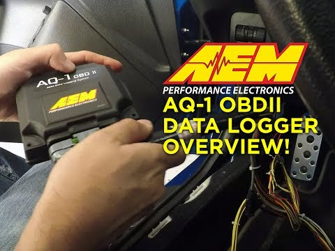 AQ-1 OBDII Data Logger Features - Log Data from CANbus through OBD Port!