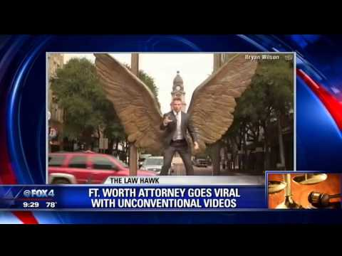 Fort Worth Attorney's Unconventional Ads Go Viral