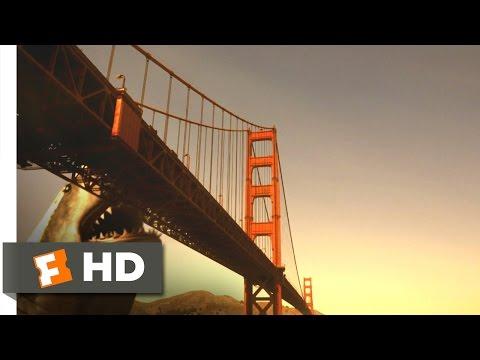 Mega Shark vs. Giant Octopus (7/10) Movie CLIP - Goodbye Golden Gate (2009) HD